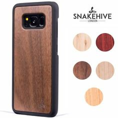 Snakehive® Samsung Galaxy Note 8 Natural Wooden Real Wood Grain Back Case Cover Samsung Galaxy Note 8, Real Wood, Wood Grain, Notes, Microsoft, Nature, Google, Accessories, Report Cards