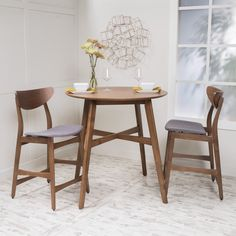 Helen Dark Fabric Wood Finish Counter Height Dining Set