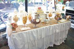 "Photo 5 of 25: Rustic Lolly Buffet / Wedding ""Dan & Bec's Rustic Beach Wedding"" | Catch My Party"