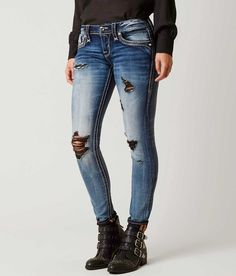 Rock Revival Yui Skinny Stretch Jean - Women's Jeans in Yui S213 | Buckle