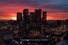 Los Angeles: Downtown LA Sunset