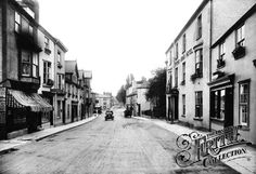 Old photo of Church Hill 1907, Chudleigh