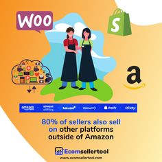 DID YOU KNOW?  80% of sellers also sell on other platforms outside of Amazon. No seller can overlook the incredible opportunity Amazon provides to reach a massive audience. For this reason, many sellers feel that an Amazon presence is crucial to the growth and prosperity of their business.  Visit us at www.ecomsellertool.com  Follow us @ecomsellertool Follow us @ecomsellertool - - - - - - - - - #amazon #amazonprime #amazonfbatips #amazonsellers #amazonfbalife #amazonfbaseller… Track Shipment, Warehouse Management, Amazon Advertising, Ecommerce Software, Amazon Fulfillment Center, Supply Chain Management, Amazon Seller, Amazon Fba, Case Study
