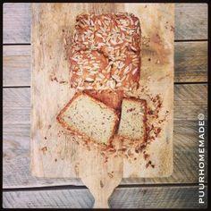Quinoa-boekweit brood hennepzaad & zonnebloempitten -Puur Homemade