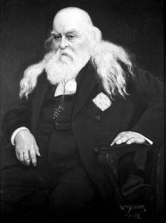 Freemasonic master magus of the 33rd Degree, General Albert Pike, sporting Baphomet symbol. You'll find a statue 'honoring' him in Washington DC. After all, our government was founded on and is laced with Freemasonry.