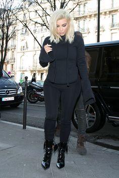 Kim Kardashian in Paris on March 6, 2015.   - Cosmopolitan.com