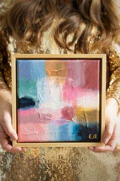 Limited Edition Collection 2020 Edther Gemser | Abstract schilderij modern | kunst in huis | wooninspiratie | woonidee | woonkamer Original Art, Frame, Home Decor, Modern Art, Picture Frame, Decoration Home, Room Decor, Frames, Home Interior Design