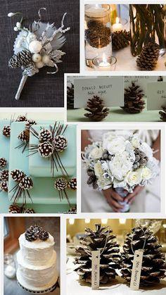 Wedding Wednesday [Pine Cones]