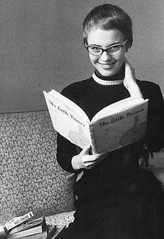 Jean Seberg reading The Little Prince