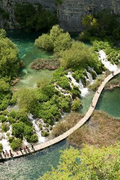 Plitvice Lakes National Park, Croatia I want to take Olivia here when she is older it looks amazing