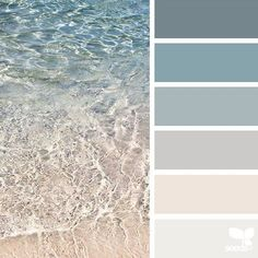 today's inspiration image for { crystal clear } is by @orangiepink ... thank you, Oryana, for another fresh & inspiring #SeedsColor image share! #beach_coastal_decor
