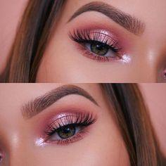 millieleer tiktok dark eye makeup - Google Search Makeup Eye Looks, Eye Makeup Art, Pretty Makeup, Eyeshadow Makeup, Soft Eye Makeup, Natural Makeup, Eyeshadow Base, Makeup Looks Tumblr, Formal Eye Makeup