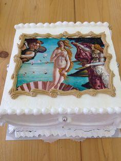 名画のケーキ Cake, Desserts, Food, Tailgate Desserts, Deserts, Food Cakes, Eten, Cakes, Postres