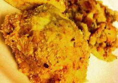 Italian Dressing Breaded Chicken Recipe -  Awesome let's eat Italian Dressing Breaded Chicken
