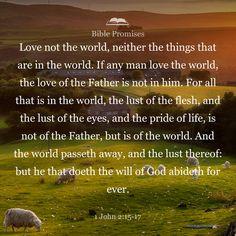 1 John 2:15-17 | Bible Promises