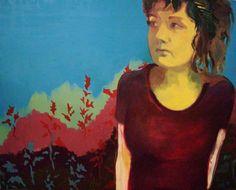 pl self-portrait Jadwiga Sierocinska Paintings, Portrait, Art, Art Background, Paint, Headshot Photography, Painting Art, Kunst, Portrait Paintings