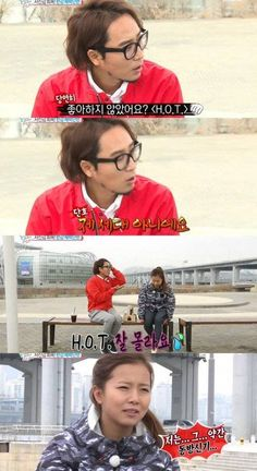 Song Ga Yeon says she doesn't know H.O.T. because she was part of the TVXQ era   http://www.allkpop.com/article/2015/03/song-ga-yeon-says-she-doesnt-know-hot-because-she-was-part-of-the-tvxq-era