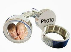 """""""Personalized Photo Cufflinks""""  