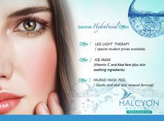 Summer Hydrafacial Offers from Halcyon medicare