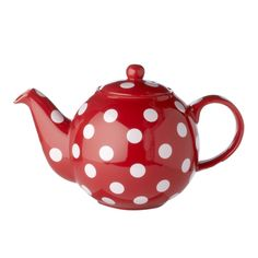 6-Cup Red polka dot traditional teapot found at Whittard £18.00