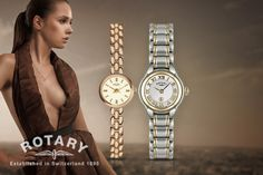 From instead of (from Lambretta Watches) for a limited edition ladies' watch made with crystals from Swarovski® - choose from three designs and save up to Rotary Watches, Loose Weight Fast, Ring Displays, Display Case, Mj, Black And Brown, Bracelet Watch, Bling, Exercise