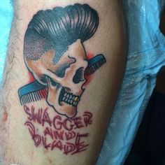 Barber Ink : barbershop tattoo more barbershop tattoo barbershop ink barbers shops ...