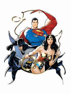 DC Comics Trinity ®... #{T.R.L.}