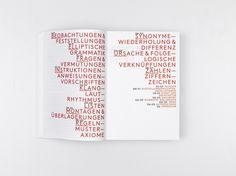 Hubertus Design, Zurich, using Lineto's LL Brown typeface