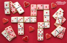 Valentine Dominoes