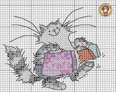 :) Union Jack Snail Source: Margaret Sherry Kits Waiting for Santa S. Cross Stitch Letters, Cross Stitch Bookmarks, Cross Stitch Books, Mini Cross Stitch, Beaded Cross Stitch, Cross Stitch Animals, Cross Stitch Embroidery, Cat Cross Stitches, Counted Cross Stitch Patterns