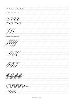 learning to write spencerian script pdf