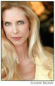 ACTRESS  ALLISON BALSON  PLAYS THE ROLE OF  NANCY  OLSON ON LITTLE HOUSE ON THE PRAIRIE THE NEW  YEARS