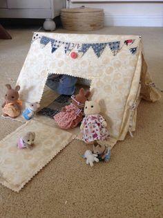 Sylvanian families tent