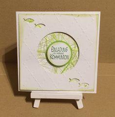 Einladungskarten - Einladungkarte Kommunion - ein Designerstück von Sandelinchen bei DaWanda