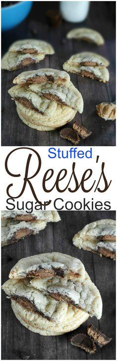 Stuffed Reese's cookies. sewlicioushomedec...
