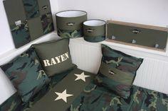 Set legergroen Army