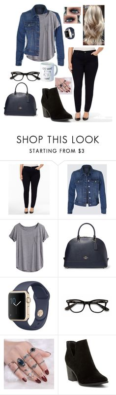 """School day"" by allisongaa on Polyvore featuring Style & Co., Coach, Ace, Breckelle's and plus size clothing"