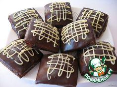 Шоколадные пряники с начинкой - кулинарный рецепт