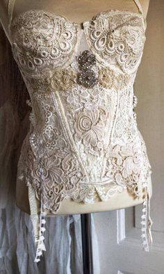 RAW corset one of a kind by RAWRAGSbyPK on Etsy, kr1500.00