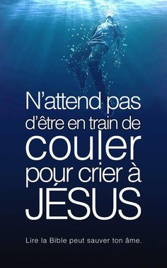 jesus dieu sauver ame bible Biblical Quotes, Bible Quotes, Bible Verses, Art Quotes, Christian Verses, Christian Life, Jesus Reigns, Sola Scriptura, Christian Warrior