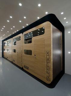 future hotel, Arch Group, Sleepbox Hotel, futuristic hotel, future architecture, futuristic interior, futuristic room, box hotel moscow