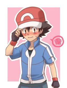 Ash Ketchum ^.^ ♡ I give good credit to whoever made this