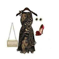 Summer Dress Zay women's sleevless dress. Chiffon zay Dresses
