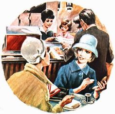 Ladies who lunch, Katholieke Illustratie (Dutch) 1964