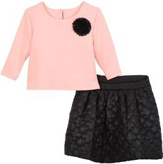 Pippa & Julie Keyhole Top & Clover Quilted Skirt