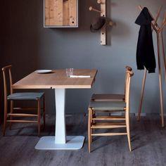 Gualtiero tavolo rovere e bianco