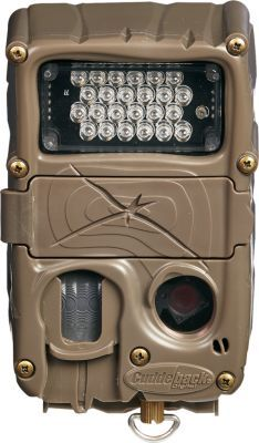 Small but packed with features, Cuddeback's Long-Range 20MP IR Trail Camera captures crisp 20MP images and records up to 30-seconds videos with sound.
