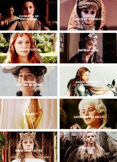 period drama + powerful women