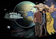 Иллюстрация для обложки к роману
