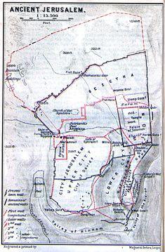 Map of Ancient Jerusalem